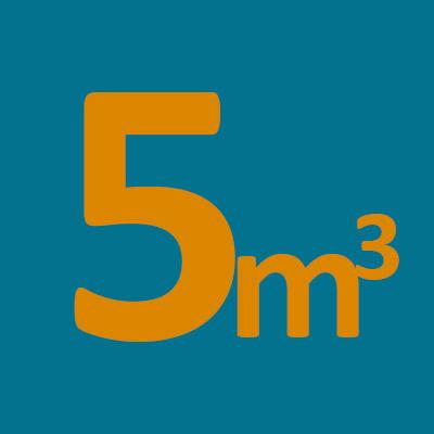 Contenedores 5m3